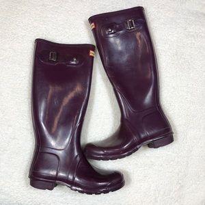 Purple Hunter Boots